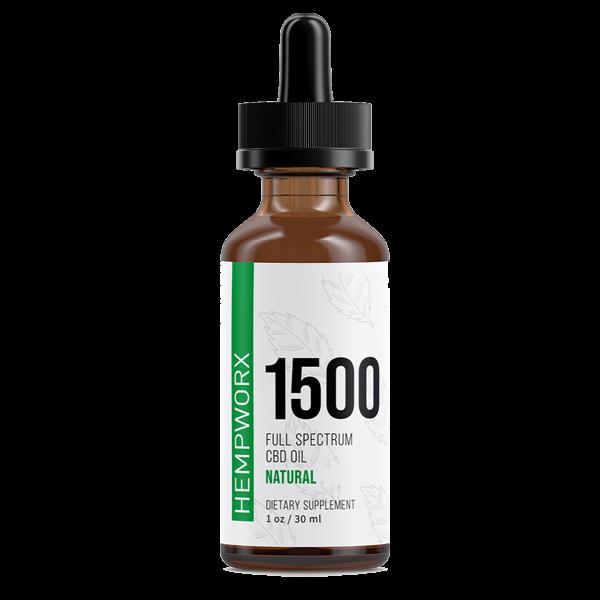 Hempworx 1500 CBD olaj