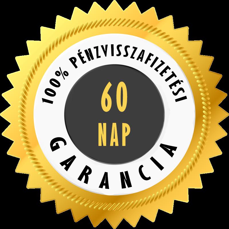 60 napos garancia